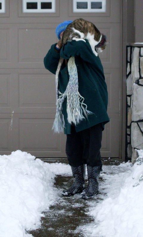 I don't like snow...