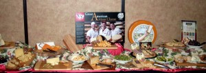 Great American Artisan Cheese Table