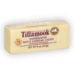 Tillamook Horseradish White Cheddar