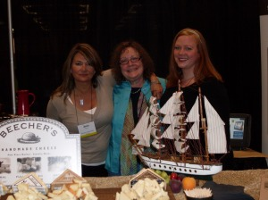 The Lady with The Beecher's Handmade Cheese Ladies
