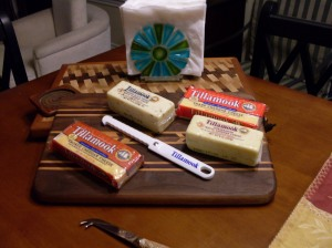Tillamook Cheese Platter